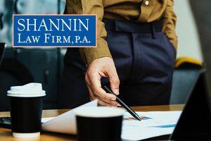 Attorney Fee Litigation, Shannin Law Firm, P.A.